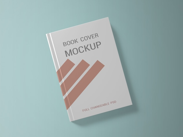 Book cover mockup design for business
