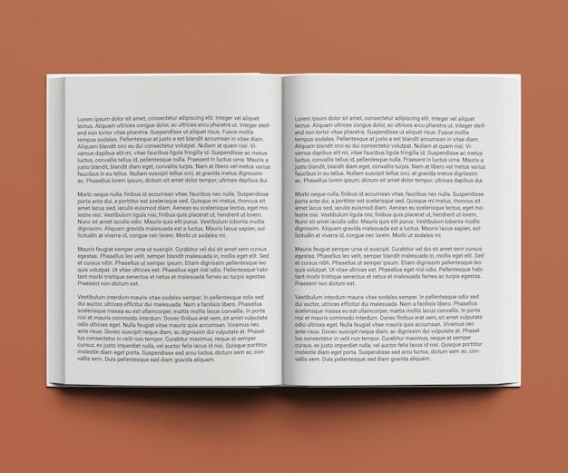 ビジネスのためのブックカバーのモックアップデザイン