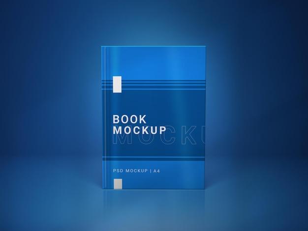 ブックカバーのモックアップデザイン