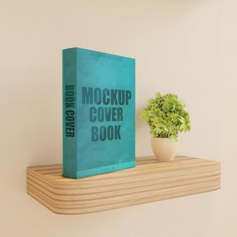 식물 나무 벽 책상에 책 표지 이랑