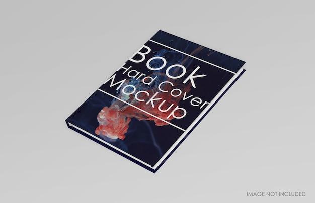 Изолированный макет книги в твердом переплете