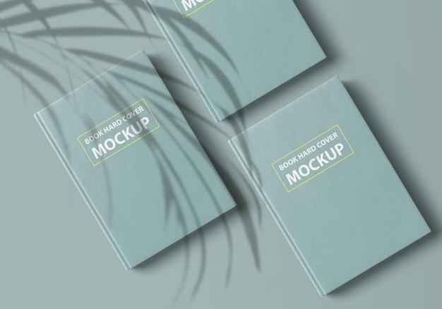 Дизайн макета книги в твердом переплете