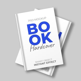 Book hardcover mockup