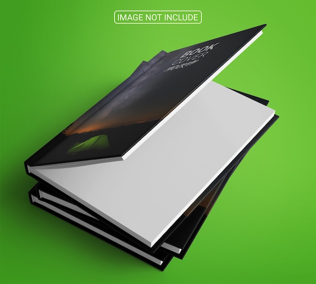 Book and magazine cover mockup