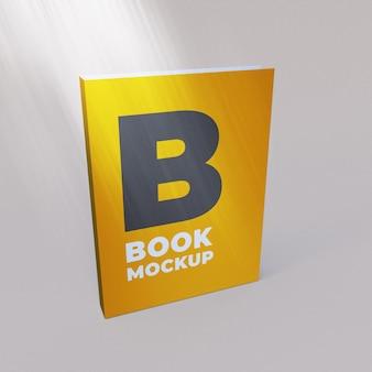 Книжный макет 3d рендера премиум psd Premium Psd