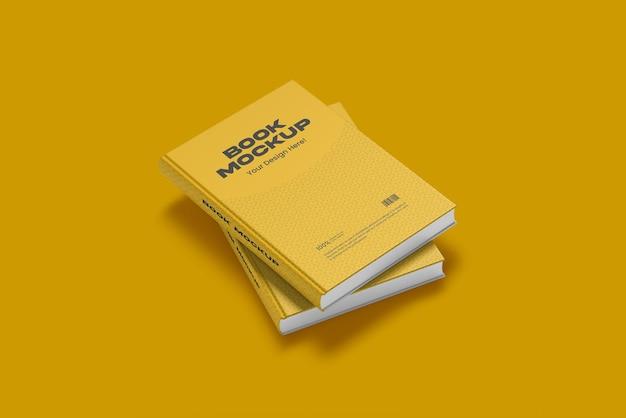 Дизайн макета книги в 3d-рендеринге