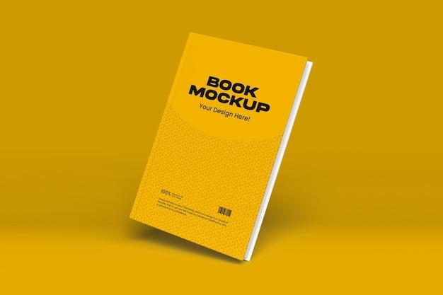Дизайн макета книги в 3d-рендеринге Premium Psd