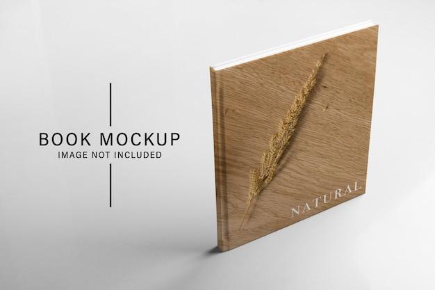 Book standing mockup