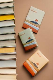 Расположение книг плоская планировка