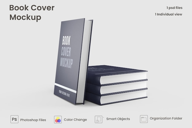 本はモックアップをカバーしています