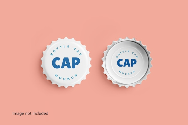 ボトルキャップモックアップ