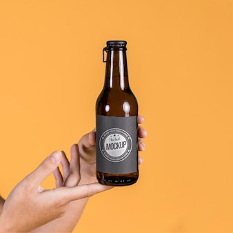 Mock-up del concetto di bottiglia