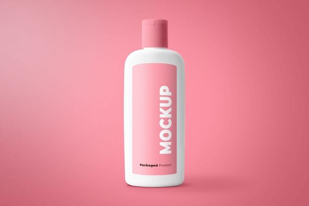 Бутылка продукт макет