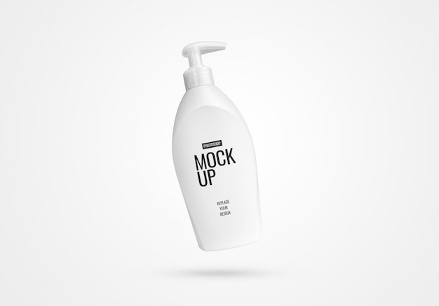 Реалистичный макет бутылочного насоса