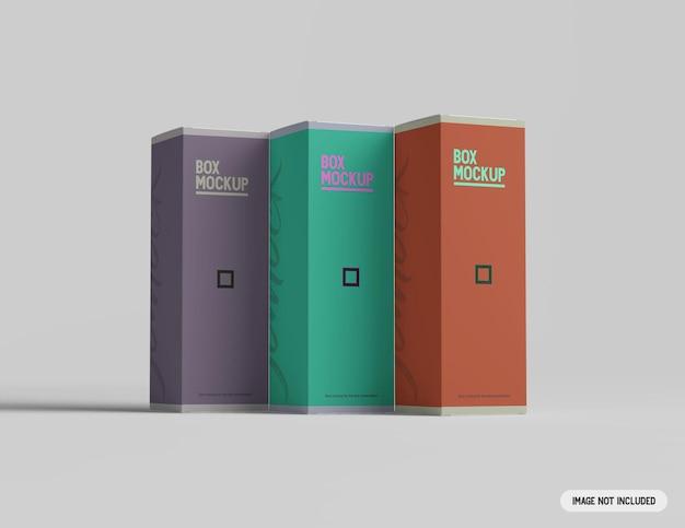 Коробка макет