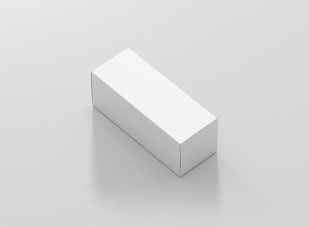 Box package mockup