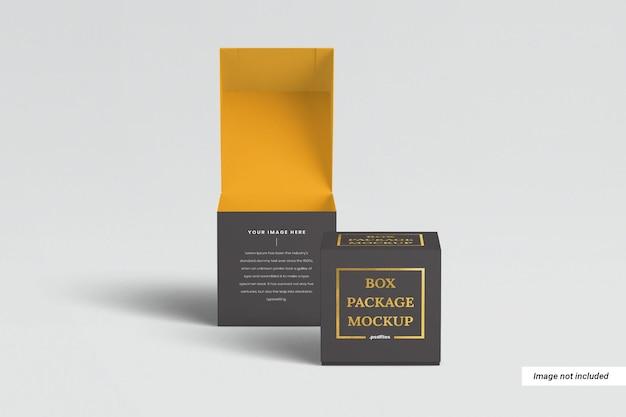 ボックス包装モックアップ
