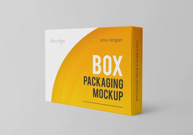 Макет упаковки коробки