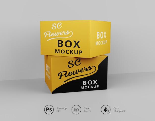 Box макеты
