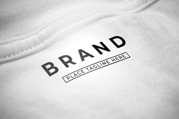 브랜드 로고 모형