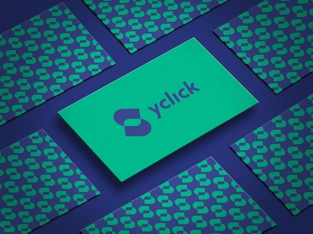 Макет фирменной визитки