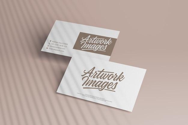 Branding business card mockup