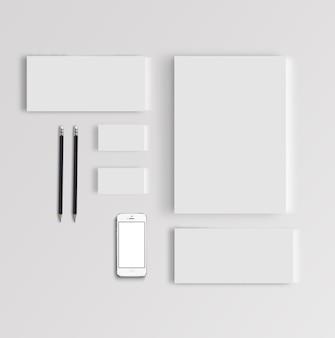 Branding stationary mock-up
