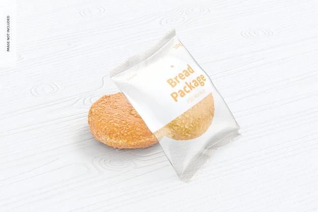 Bread package mockup