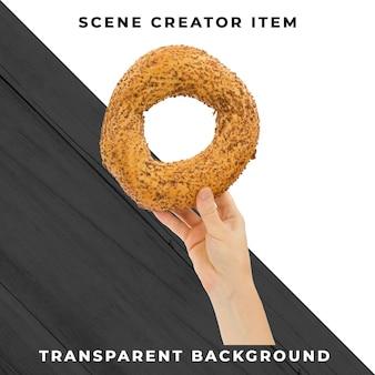 Хлеб прозрачный psd