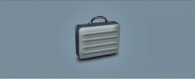 Briefcase grey