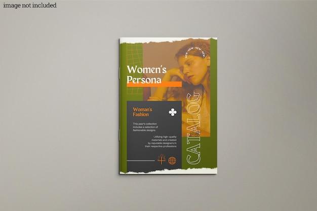 Brochure catalog mockup