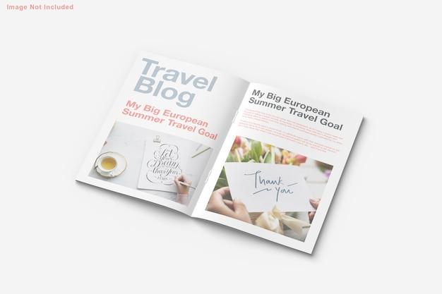 Brochure and magazine mockup design