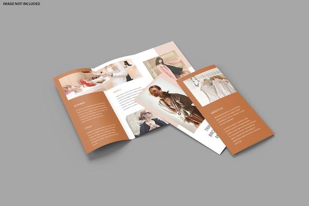 Изолированный дизайн макета брошюры