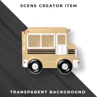 Bus marrone psd trasparente
