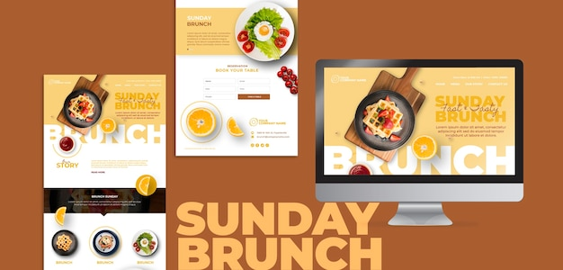 Brunch theme for templates