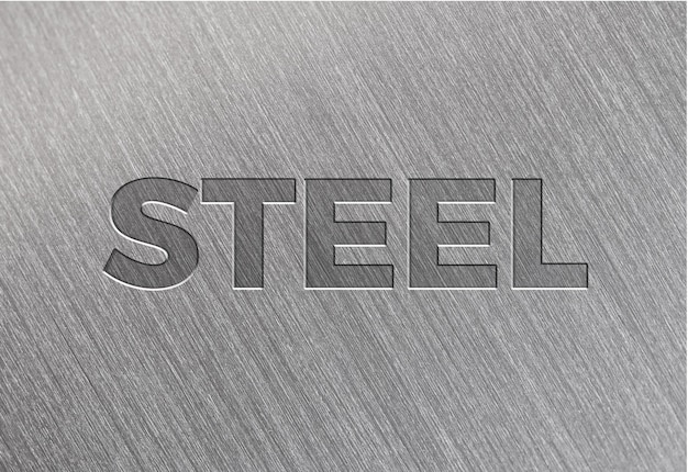 Текстура из матовой стали