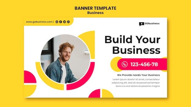Build your business banner template