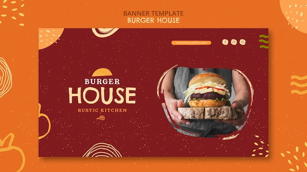 Burger house template