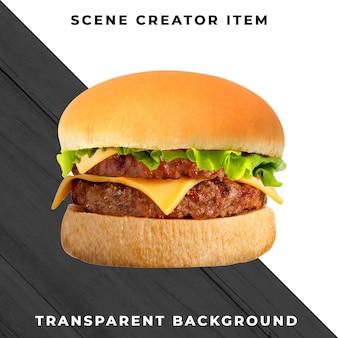 Burger ingredient transparent psd