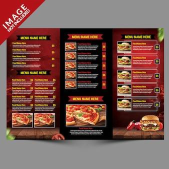 Шаблон бургер-меню