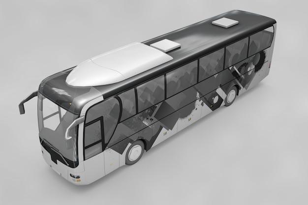 Автобусный макет