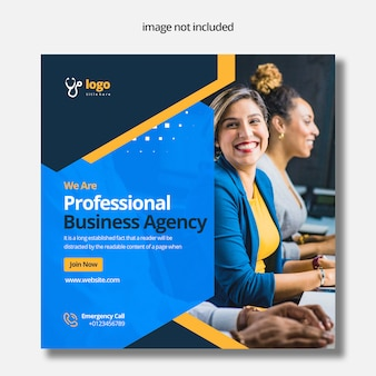 Бизнес-агентство social media post