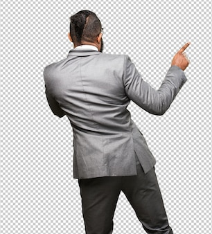 Business black man dancing