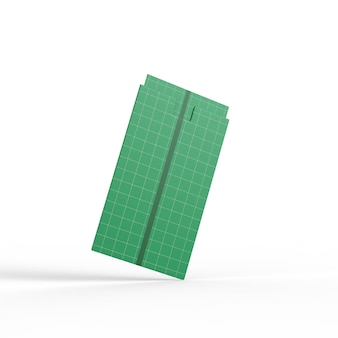 Business card in cover mockup