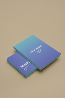 Business card design mockup
