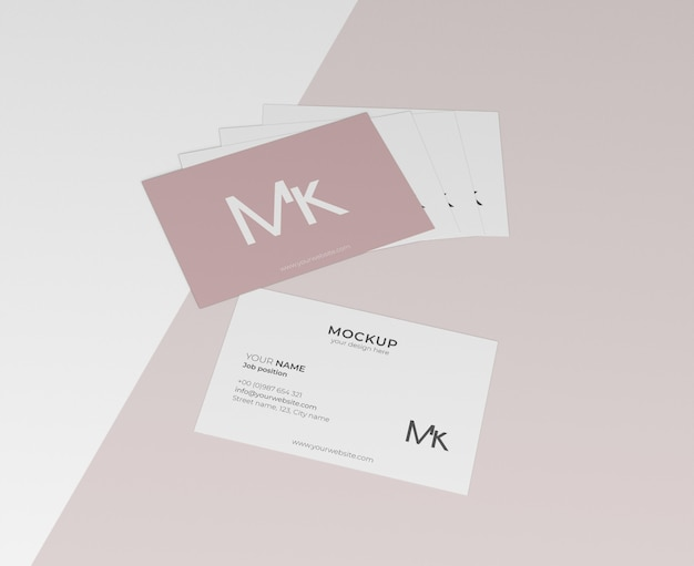 Ассортимент макетов визиток