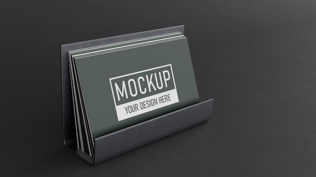 Composizione di mock-up di biglietti da visita
