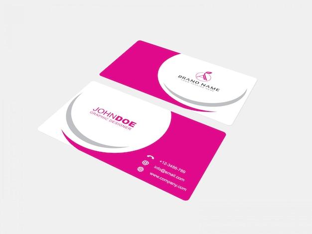 Business card mockup 06