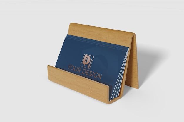 Визитная карточка макет 1