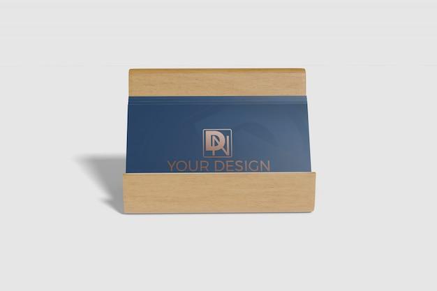 Визитная карточка макет 3